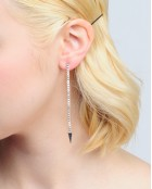 SPIKY LONG EARRINGS
