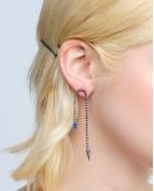 STYLEE SPIKY EARRINGS