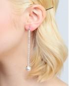 PEARL LONG EARRINGS
